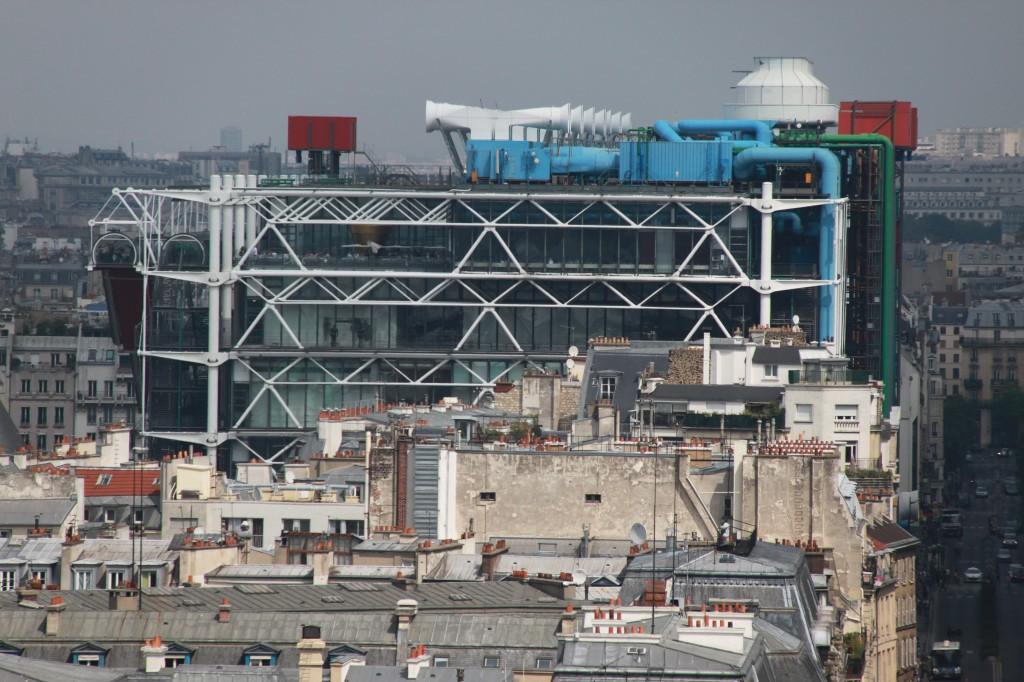 Centre Georges Pompidou Architecte intérieur Paris 4