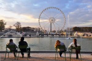 Jardin des Tuileries, Architecte intérieur Paris 1
