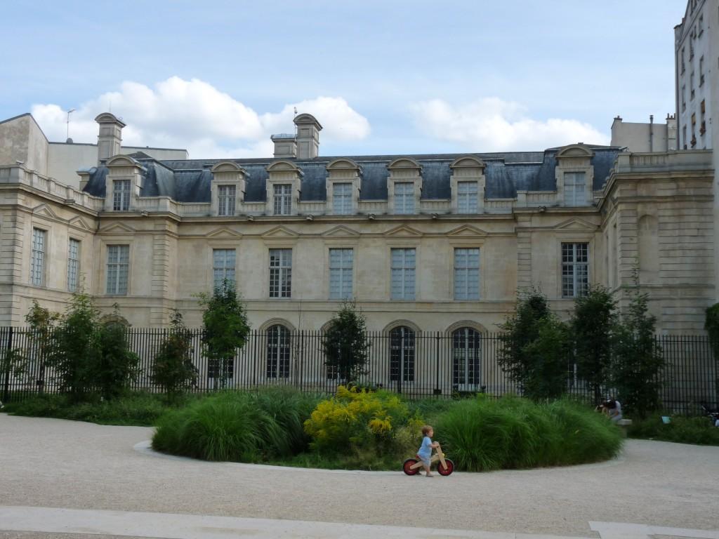 Jardin Anne Franck Architecte intérieur Paris 3