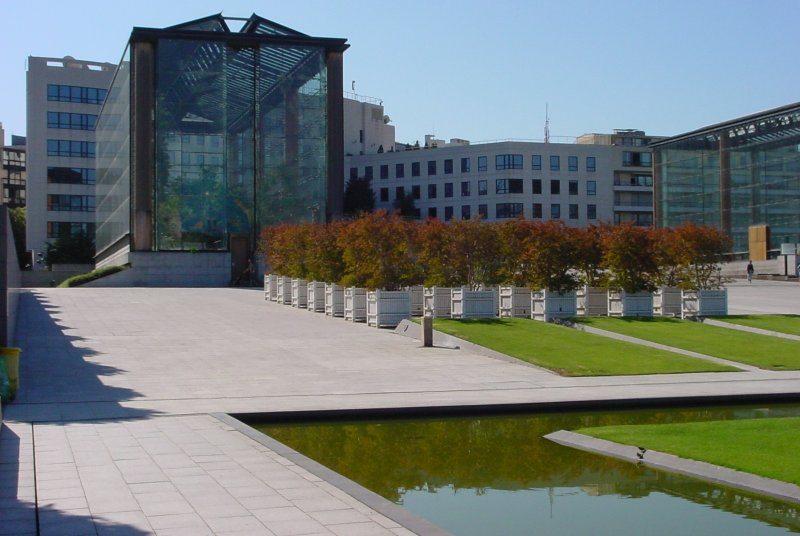 Serres Parc André Citroën, Architecte intérieur Paris 15