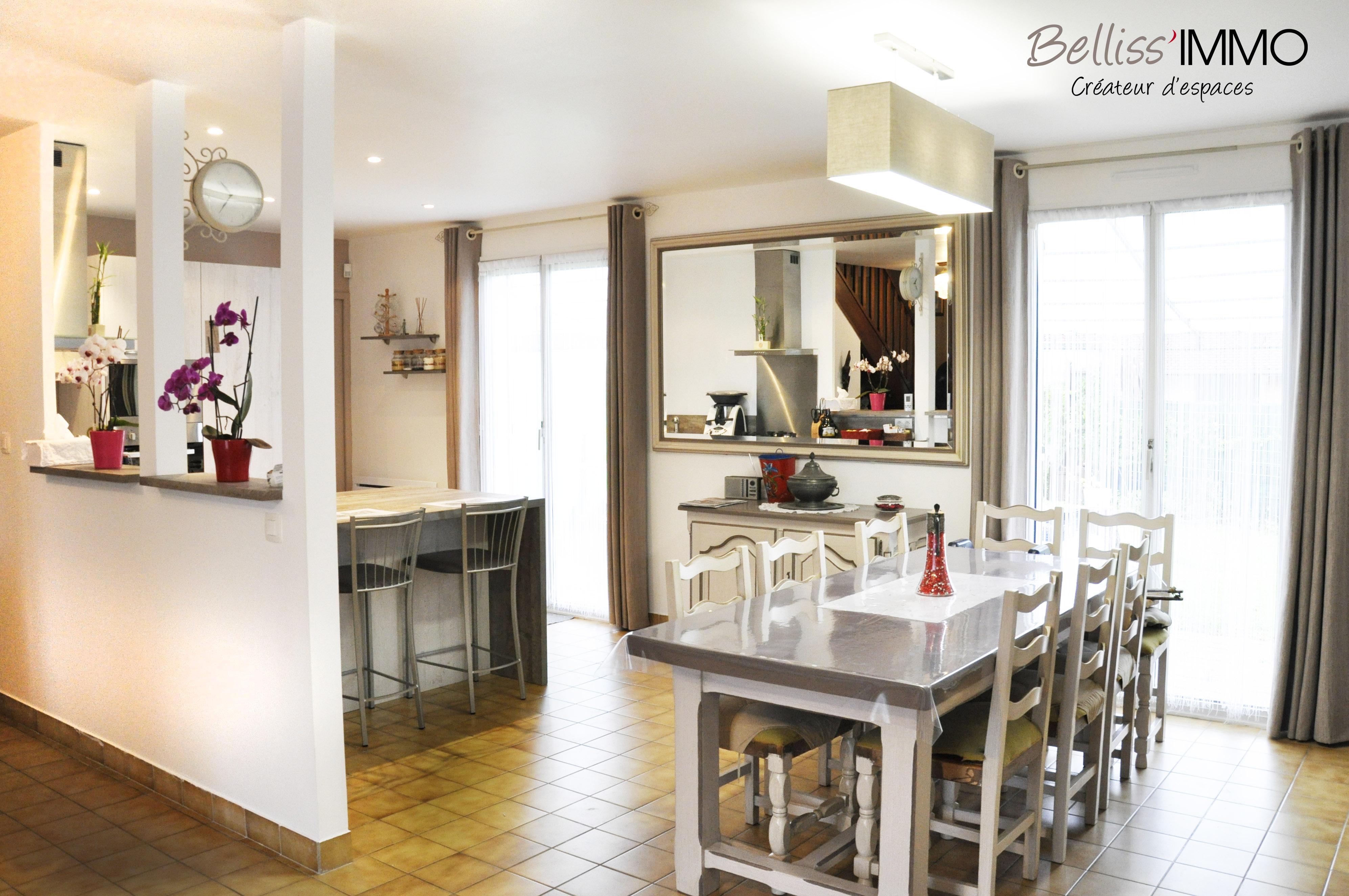 Projet d'aménagement d'une cuisine dans appartement duplex – Paris 6